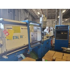 NETSTAL 90-TON PLASTIC INJECTION MOLDING MACHINE 1991