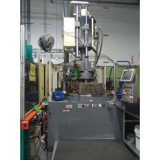 NISSEI 110-TON VERTICAL ROTARY HYBRID PLASTIC INJECTION MOLDING MACHINE 2008