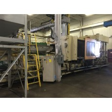 VAN DORN 1500-TON PLASTIC INJECTION MOLDING MACHINE 1995