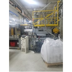 VAN DORN 300-TON PLASTIC INJECTION MOLDING MACHINE 1998