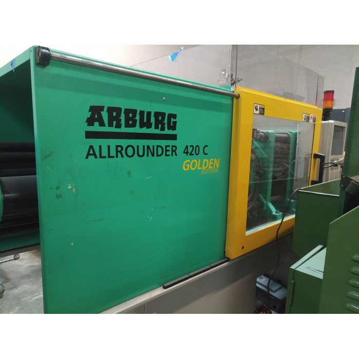 ARBURG 110-TON PLASTIC INJECTION MOLDING MACHINE 2012